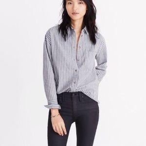 Madewell Westward Striped Flannel